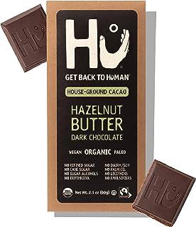 Hu Chocolate Bars | 12 Pack Hazelnut Butter Chocolate | Natural Organic Vegan, Gluten Free, Paleo, Non GMO, Fair Trade Dar...