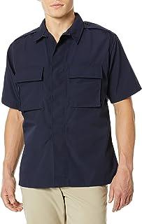 Propper Men's Short Sleeve Bdu Shirt, Dark Navy, XX Large Regular