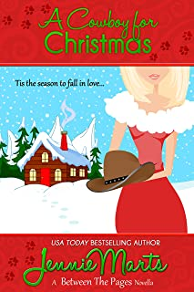 A Cowboy for Christmas: A Between the Pages Holiday Novella (The Page Turners series Book 5)