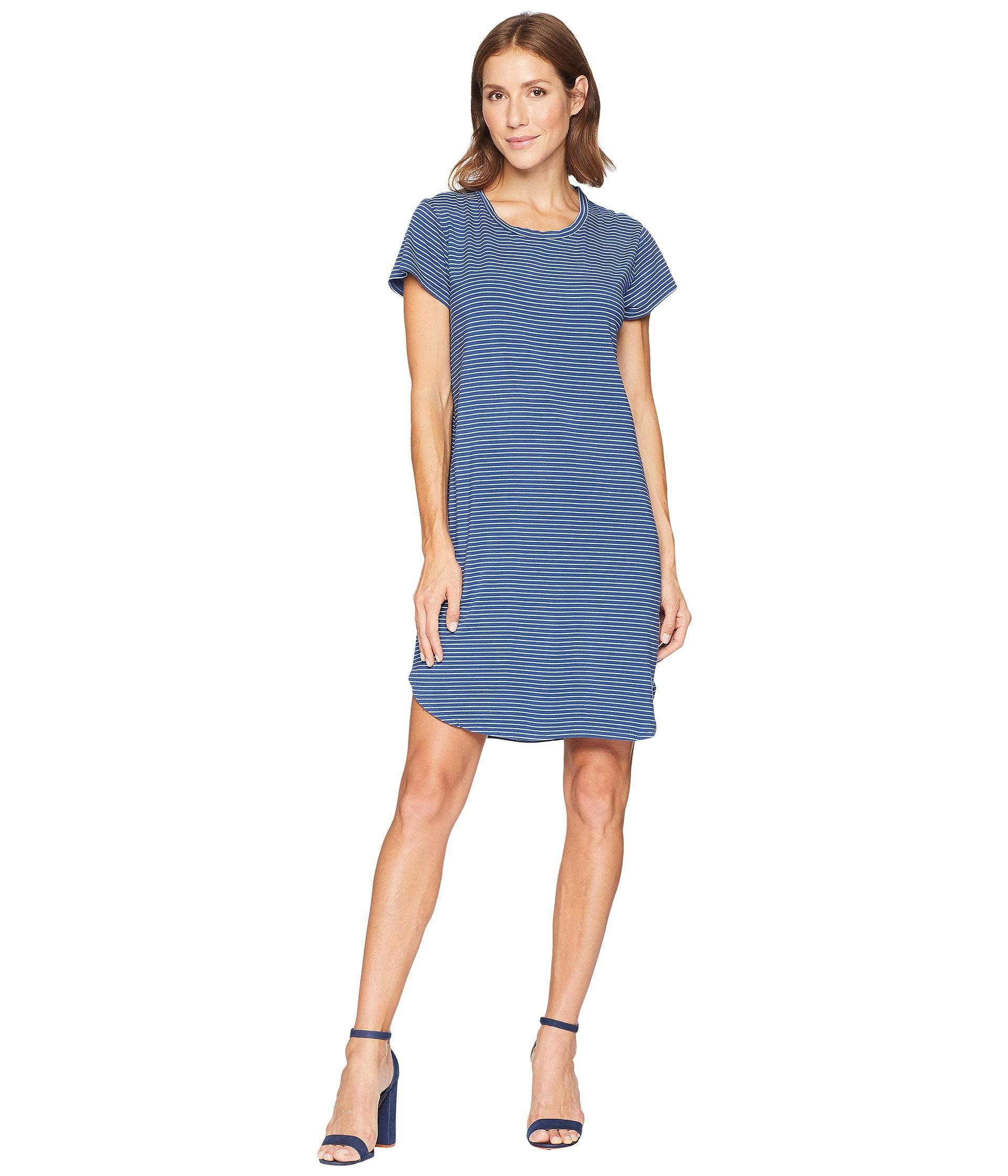 Moonlight T shirt Produce Fresh Dress Blue Kylie Pinstripe t7YpSq