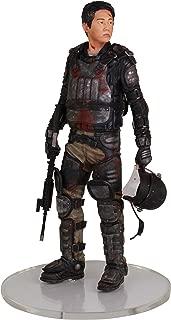 The WALKING DEAD Glenn in Riot Gear Statue