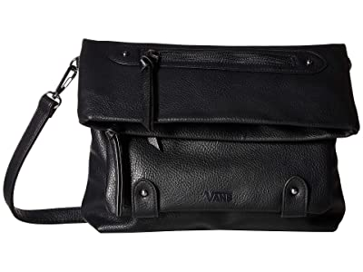 Vans Wander On Satchel (Black Pebble) Satchel Handbags