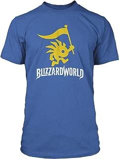 Overwatch Blizzard World Logo Men's Gamer Tee Shirt