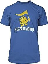 JINX Overwatch Blizzard World Logo Men's Gamer Tee Shirt