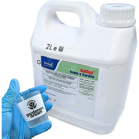 Gallup Home & Garden Glyphosate Weedkiller 2L + Free GardenersDream Cup & Gloves