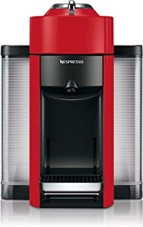 Nespresso by De'Longhi ENV135R Coffee and Espresso Machine by De'Longhi, Red