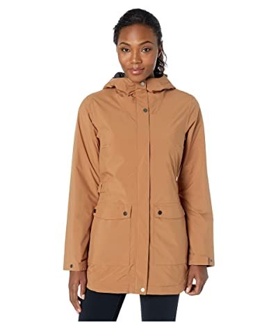 Columbia Here and Theretm Insulated Trench Jacket (Camel Brown) Women