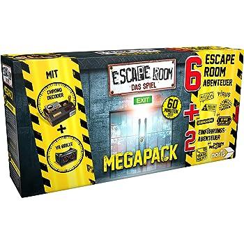 Noris 606101831 Escape Room Mega Pack - Juego de accesorios para ...
