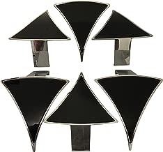 Lexani Wheels Dial PD-CVPCA 718(24) Black Wheel Inserts Set of 6 Fits 24 Inch Wheel