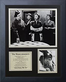 Legends Never Die The Honeymooners Framed Photo Collage, 11 x 14-Inch