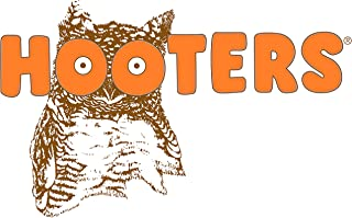 Hooters Restaurant Iron On Transfer for T-Shirts & Other Light and Dark Color Fabrics #1 Divine Bovinity