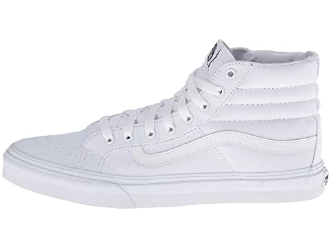 Core Classics True White Vans Slim® Hi Canvas Sk8 qAZwxBtxz