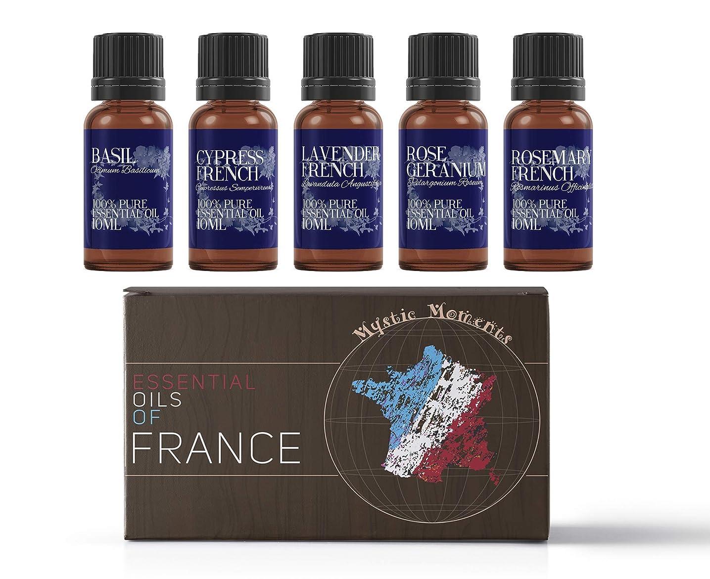 毛布ペルソナ軍Mystic Moments | Gift Starter Pack of 5 x 10ml - Essential Oils Of France
