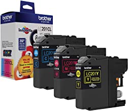 Brother Genuine Standard Yield Color Ink Cartridges, LC2013PKS, Replacement Color Ink Three Pack, Includes 1 Cartridge Eac...