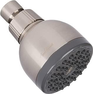 High Pressure Showerhead Brushed Nickel - Best Wall Mount, Bathroom, RV Shower Head For Low Flow Showers - Brush Nickle