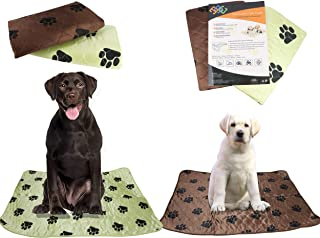 PETS ALL AROUND Washable Dog Pee Pads for Puppy Training Super Absorbent, Anti-Tracking Dryness | Whelping, Incontinence, ...