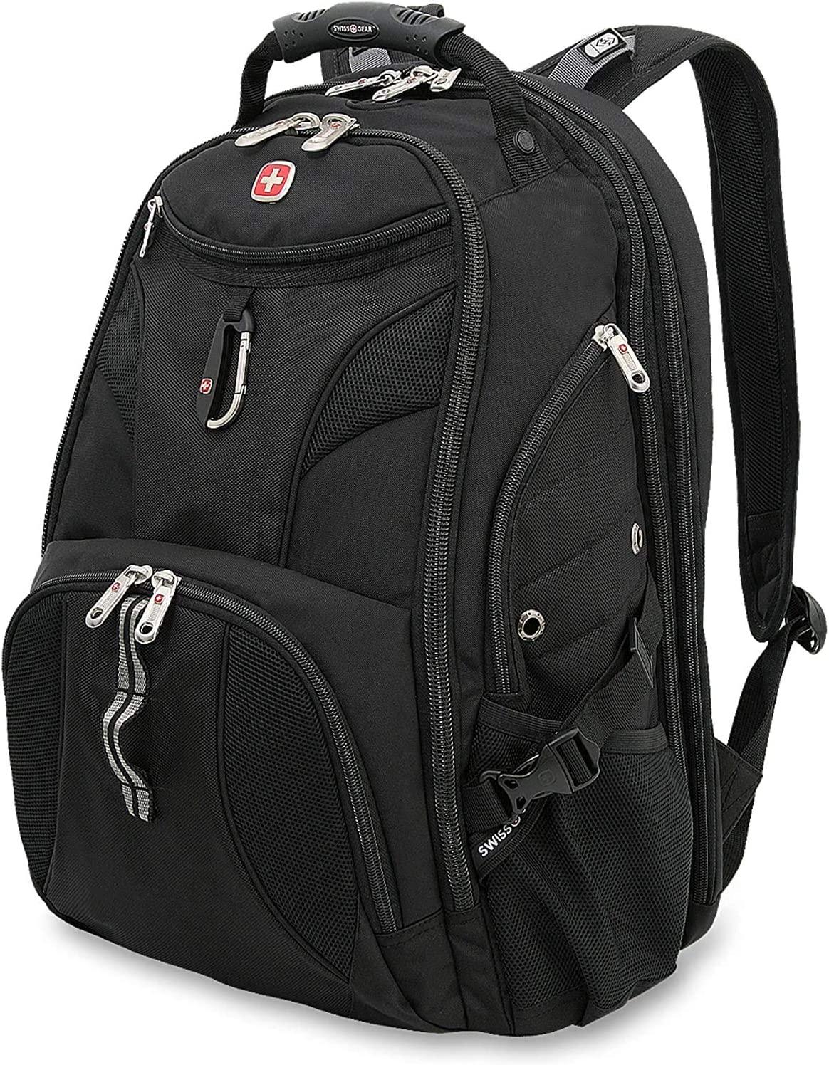 SwissGear 1900 Scansmart TSA 17-Inch Laptop Backpack, Blue/Black