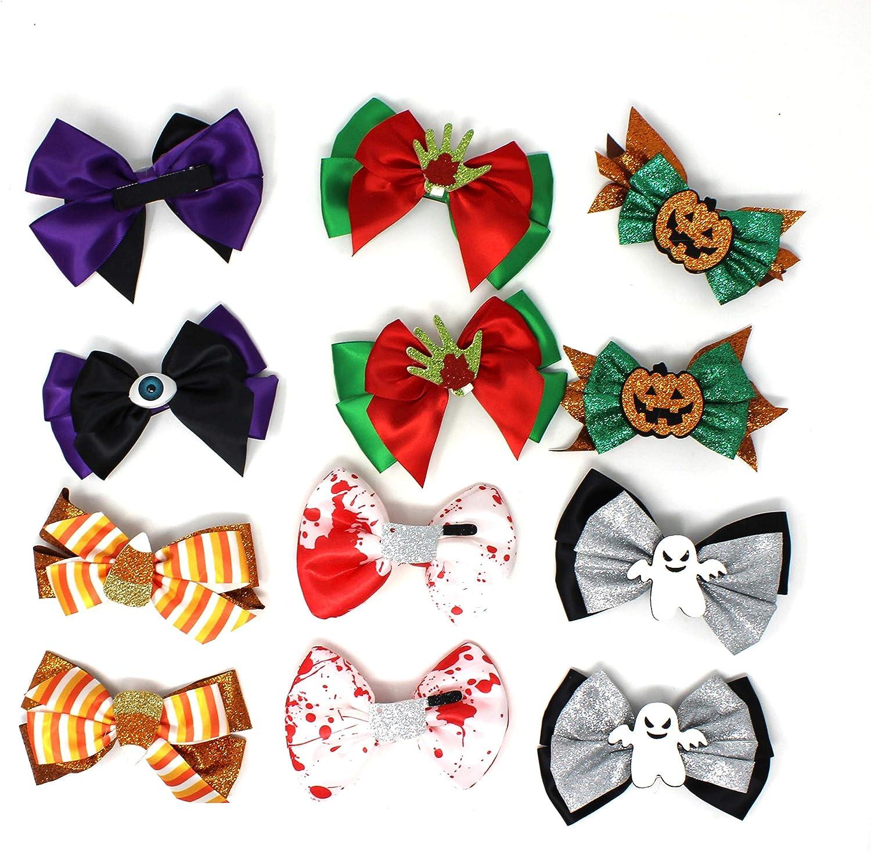JOYIN Halloween 6 Designs Hair Cheap SALE Start Bowknot H Kids Hairpin Baby Girls Nashville-Davidson Mall