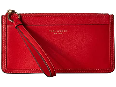 bf41a3f9fb918 Tory Burch Perry Zip Wristlet at Zappos.com