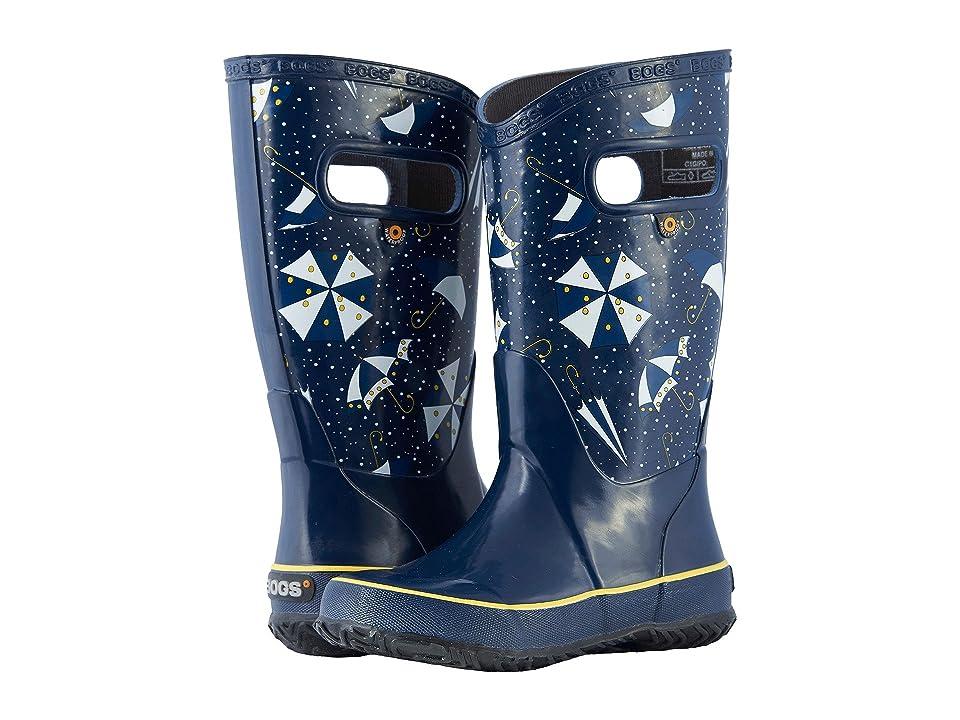 Bogs Kids Rain Boot Umbrellas (Toddler/Little Kid/Big Kid) (Dark Blue Multi) Girls Shoes
