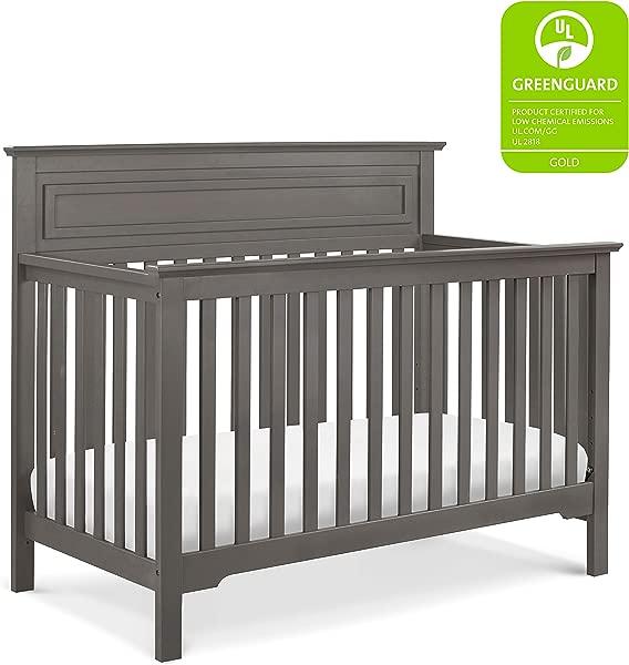 DaVinci Autumn 4 In 1 Convertible Crib In Slate Greenguard Gold Certified