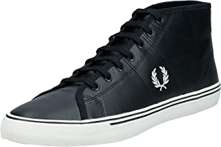 Fred Perry Unisex Adults' Haydon Mid Leather Sneaker