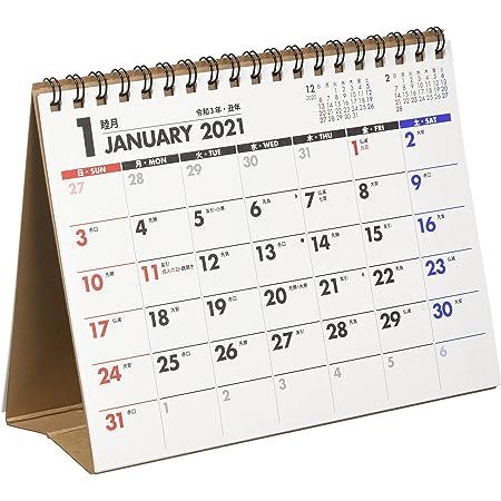 能率 NOLTY 2021年 カレンダー 卓上 30 B6 C228