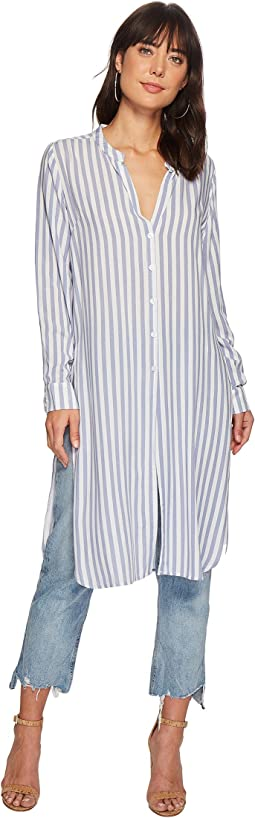 Bishop + Young Stripe Front Tie Tunic