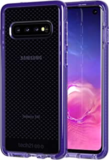 tech21 - Evo Check - for Samsung Galaxy S10 - Mobile Phone Case with a Unique Check Pattern - Thin and Light Cellphone Case - Phone Casing for Drop Protection of 12FT or 3.6M (Ultra Violet)