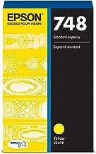Epson 748 DURABrite Pro Yellow Ink Cartridge, 1500 Yield (T748420)