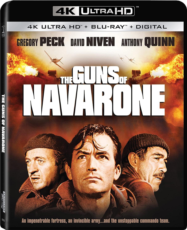 The Ranking TOP8 Guns of Navarone 2021 Blu-ray