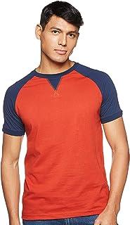 Amazon Brand - Symbol Men's Solid Regular fit T-Shirt