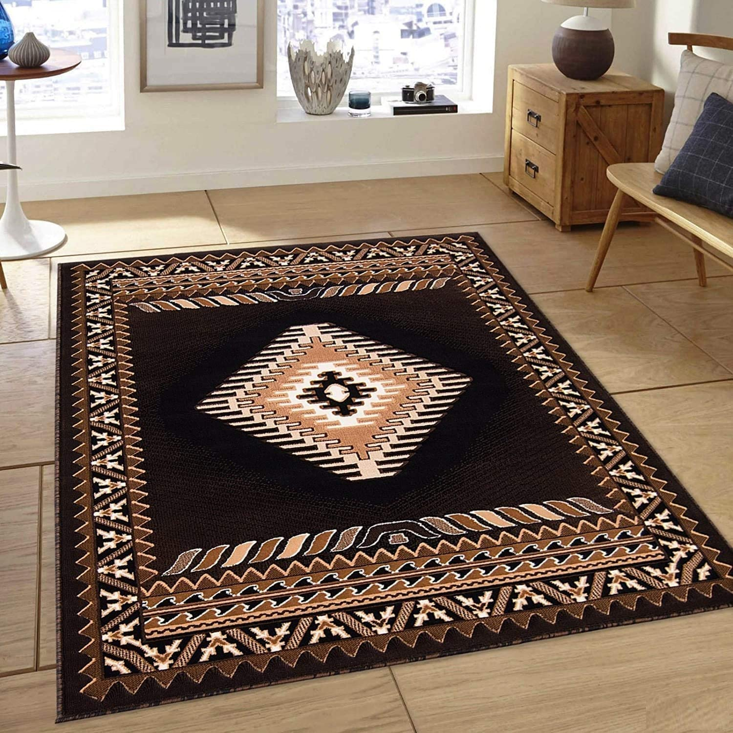 Champion Rugs Western Native American Indian Cash special price Max 56% OFF Carpet Navajo Aztec
