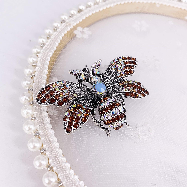 LAXPICOL Lovely Honey Bee Brooch Pin Fashion Animal Broach Pin