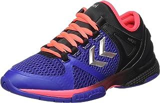 Zapatillas de balonmano para interior Salming Kobra 2 1239080-0501 color rojo y negro