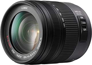 Panasonic H-VS014140E Lente per DSRL, Nero