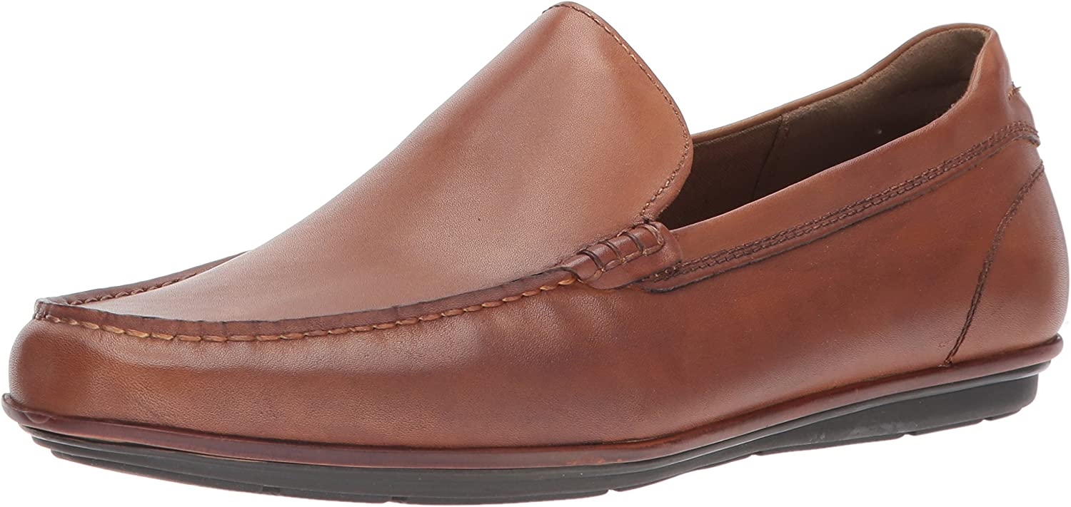 ALDO Men's Kedigoni Penny Loafer, Cognac, 7 D US