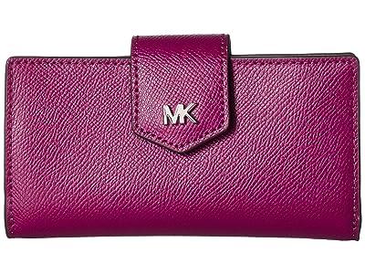 MICHAEL Michael Kors Medium Snap Wallet (Garnet) Wallet Handbags