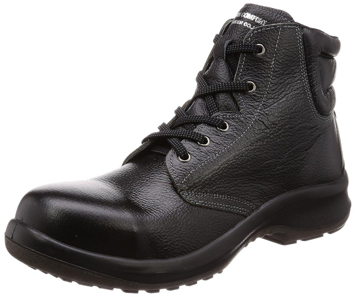 蛾こねるから聞く安全靴 JIS規格 中編上靴 プレミアムコンフォート PRM220