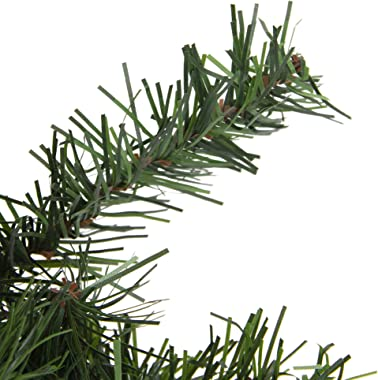 "Northlight 18"" Canadian Pine Artificial Christmas Wreath - Unlit"