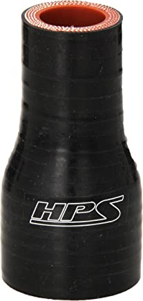 60 PSI Maximum Pressure HPS HTSR-225-300-L4-BLK Silicone High Temperature 4-ply Reinforced Reducer Coupler Hose Black 4 Length 2.25  3 ID HPS Silicone Hoses 4 Length 2.25  3 ID