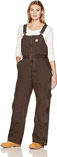 Carhartt Women's Weathered Duck Wildwood Bib Overalls (Regular and Plus Sizes)