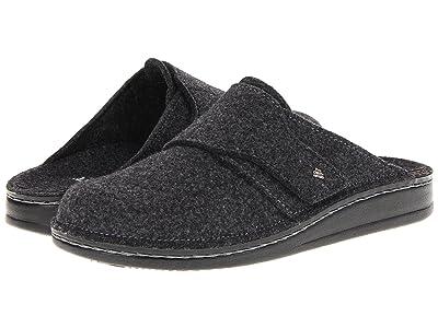 Finn Comfort Tirol 6500 (Anthrazit Wollfilz) Clog Shoes