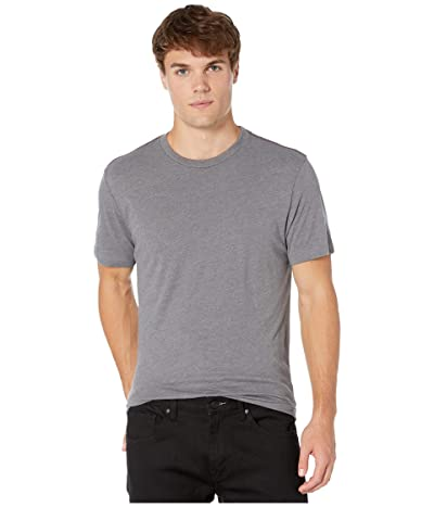 RVCA Solo Label Short Sleeve T-Shirt (Smoke) Men