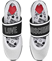 LOVE Moschino - Mesh Sneaker with Elastic Logo