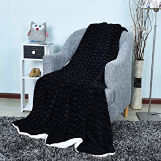 Burgandy, 220x240cm i-baby Manta para Cama Grande Mantas para Sofas de Franela de 100/% Microfibre Extra Suave Sobrecama 4 Estaciones 220x240cm