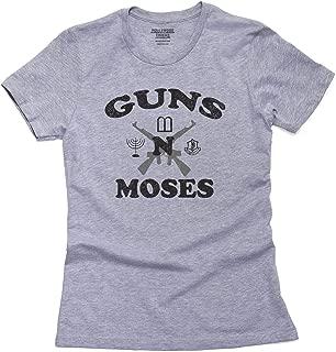 Hilarious Guns n Moses Christian Pride Women's Cotton T-Shirt