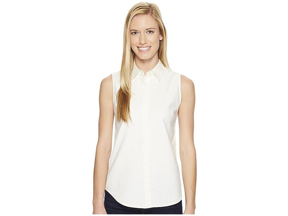 United By Blue Sleeveless Sierra Shirt (Ivory) Women