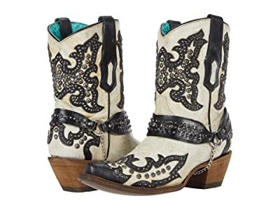 Corral Boots A3973 (White) Women