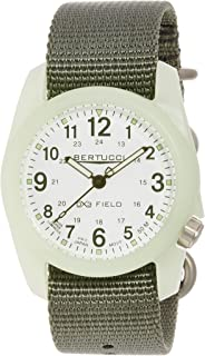 Bertucci Men's 11028 Analog Display Analog Quartz Green Watch